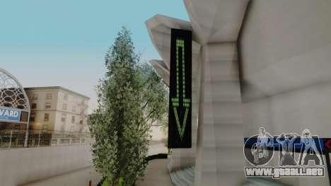 Stadium LS para GTA San Andreas segunda pantalla