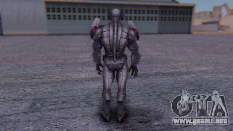 Marvel Future Fight - Ultron para GTA San Andreas tercera pantalla