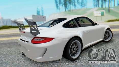 Porsche 911 GT3 Cup para GTA San Andreas left