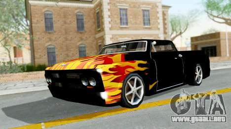 Blade New PJ para GTA San Andreas left