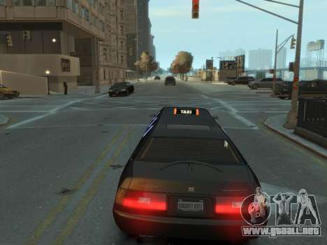 Taxi STRECH para GTA 4 Vista posterior izquierda