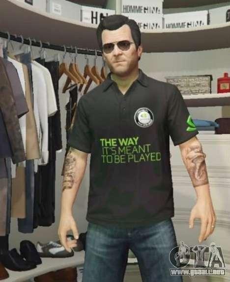 Nvidia camisa de Polo para Michael para GTA 5
