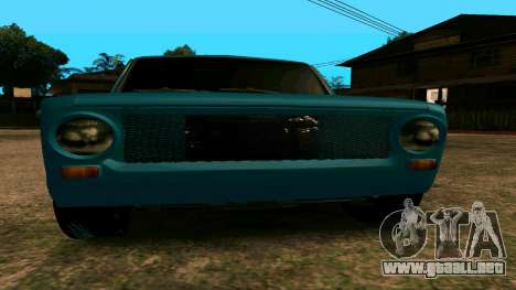 VAZ 2102 БПАN para la visión correcta GTA San Andreas