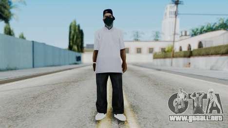 New Fam3 para GTA San Andreas segunda pantalla