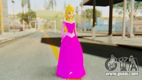 Sleep Beauty Aurora Pink para GTA San Andreas segunda pantalla