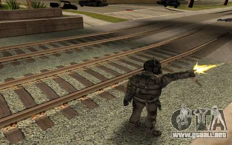 Swat from GTA Criminal Russia para GTA San Andreas tercera pantalla