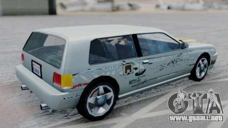 Flash F&F3 Silvia PJ para GTA San Andreas left