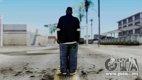 New Big Smoke para GTA San Andreas tercera pantalla