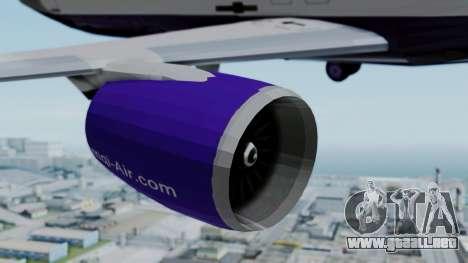 C919 UrumqiAir para la visión correcta GTA San Andreas