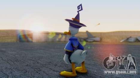 Kingdom Hearts 1 Donald Duck Disney Castle para GTA San Andreas tercera pantalla