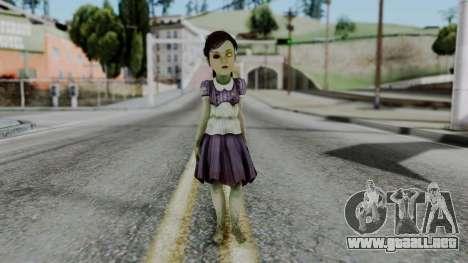 Bioshock 2 - Little Sister para GTA San Andreas segunda pantalla