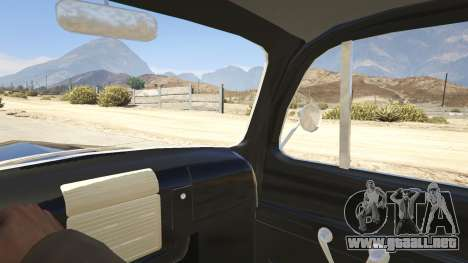 GTA 5 Ford F-150 1949 vista lateral trasera derecha