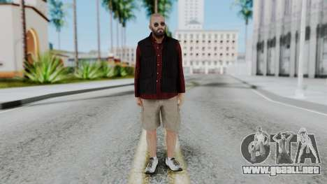 Hunter Costume Michael para GTA San Andreas segunda pantalla