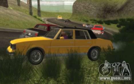 Situación de la vida 4.0 para GTA San Andreas tercera pantalla
