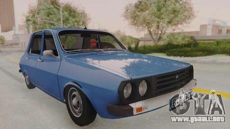 Dacia 1310 TX 1984 para GTA San Andreas vista posterior izquierda