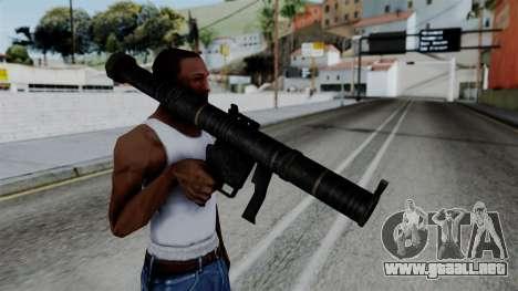 CoD Black Ops 2 - SMAW para GTA San Andreas tercera pantalla