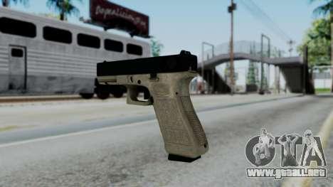 Glock 18 Sand Frame para GTA San Andreas segunda pantalla