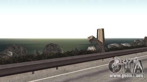 Road repair Los Santos - Las Venturas para GTA San Andreas décimo de pantalla