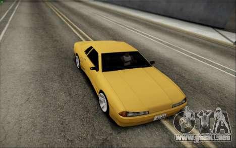 Elegy Speedhunters para GTA San Andreas vista posterior izquierda