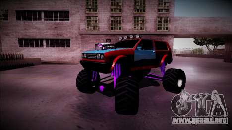 Club Monster Truck para vista inferior GTA San Andreas