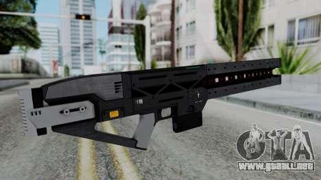 GTA 5 Railgun - Misterix 4 Weapons para GTA San Andreas segunda pantalla