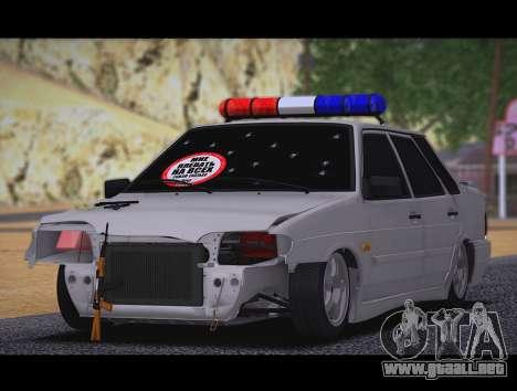 VAZ 2115 Hobo para GTA San Andreas left