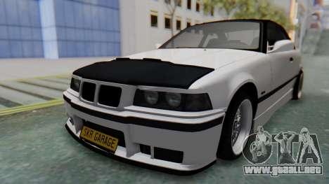BMW 320i E36 MPower para la visión correcta GTA San Andreas