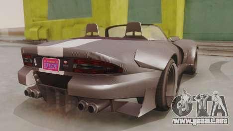 GTA 5 Bravado Banshee 900R Carbon para GTA San Andreas left