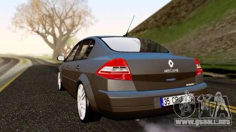 Renault Megane CPJ para GTA San Andreas left