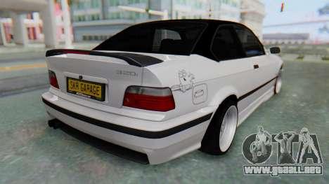 BMW 320i E36 MPower para GTA San Andreas left