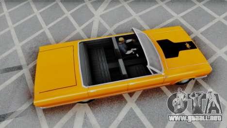 Savanna 2F2F Challenger PJ para GTA San Andreas left