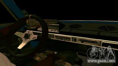 VAZ 2102 БПАN para GTA San Andreas left