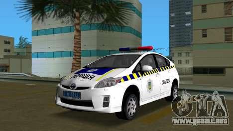 Toyota Prius De La Policía De Ucrania para GTA Vice City
