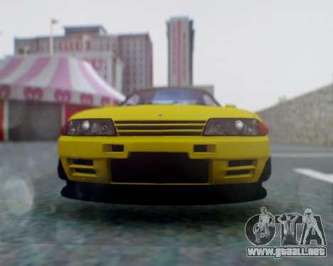 Nissan Skyline R32 GTR para la visión correcta GTA San Andreas