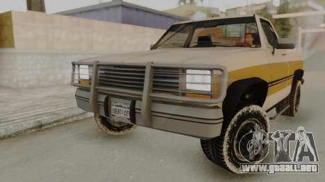 GTA 4 Declasse Rancher IVF para GTA San Andreas