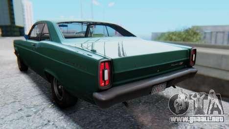 Ford Fairlane 500 1967 v1.1 para GTA San Andreas left