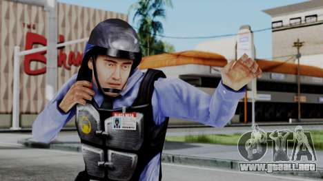 Barney Calhoun from Half Life Blue Shift para GTA San Andreas