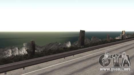 Road repair Los Santos - Las Venturas para GTA San Andreas novena de pantalla