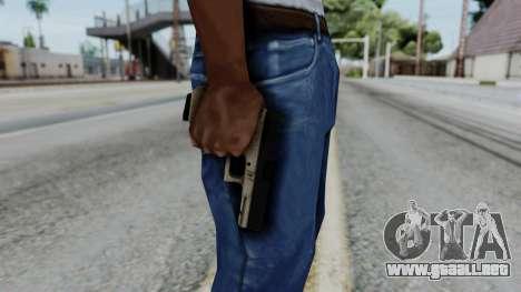 Glock 18 Sand Frame para GTA San Andreas tercera pantalla