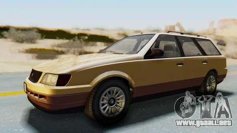GTA 5 Vulcar Ingot para GTA San Andreas