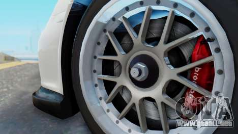 Porsche 911 GT3 Cup para la visión correcta GTA San Andreas