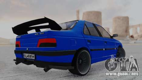 Peugeot 405 Full Tuning para GTA San Andreas left