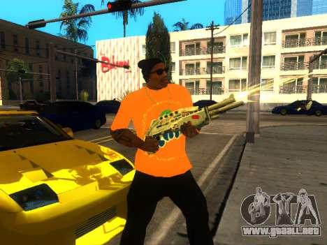 T-Shirt Fanta para GTA San Andreas tercera pantalla