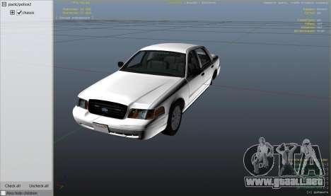 GTA 5 Ford Crown Victoria Detective vista lateral derecha