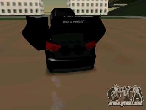 Lada Vesta 2016 para la visión correcta GTA San Andreas