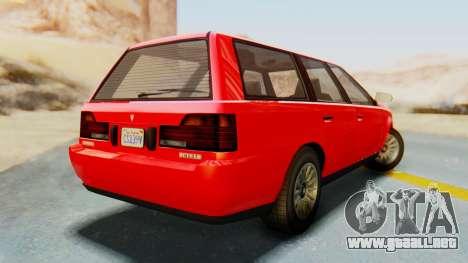 GTA 5 Vulcar Ingot IVF para GTA San Andreas left