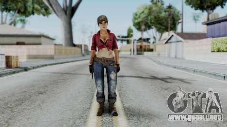Misty - CoD Black Ops para GTA San Andreas segunda pantalla