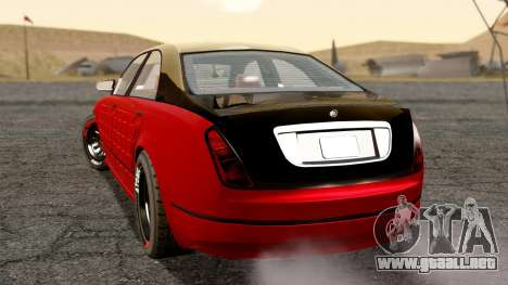 GTA 5 Enus Cognoscenti 55 Arm para GTA San Andreas left
