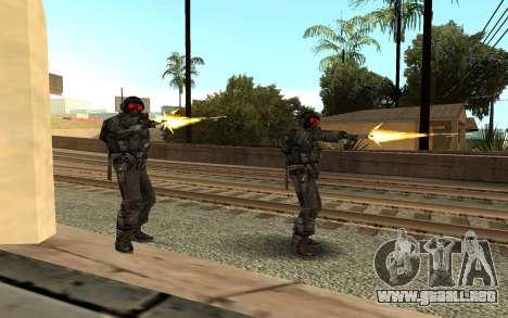 Swat from GTA Criminal Russia para GTA San Andreas segunda pantalla