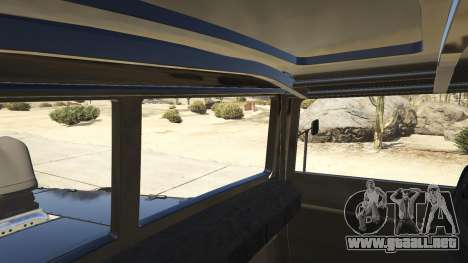 GTA 5 Mad Max The War Rig vista lateral trasera derecha